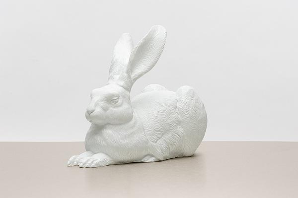 Dürer Hase (Weiß)